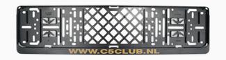 Citroen C5 Club kentekenhouder